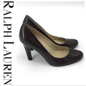 💕SALE💕 Ralph Lauren Brown Pumps